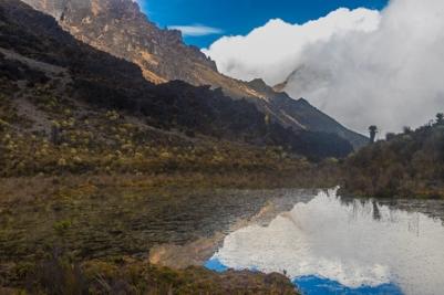 Los Nevados Lagoon
