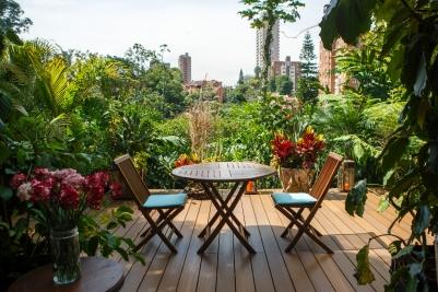 Patio del Mundo, Jardín