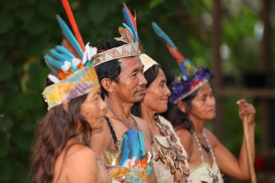 Amazone, Indios