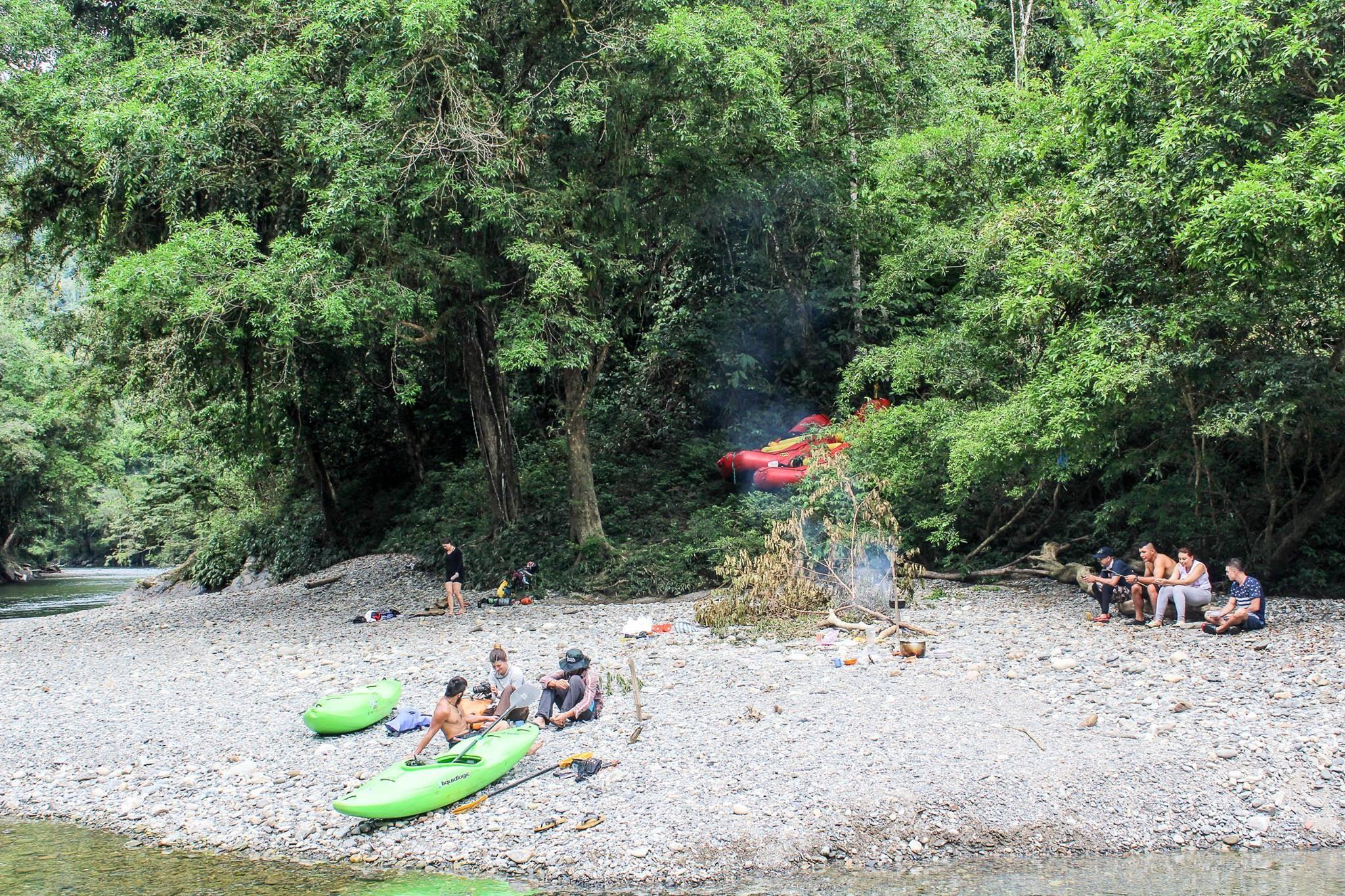 Tobia, Rafting