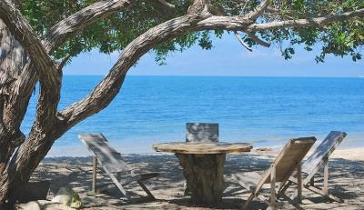 Sanguaré, beach